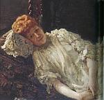 ピアニスト、ルイーザ・メルシー・ダルジャント伯爵夫人の肖像