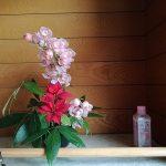 シンビジウムの生け花